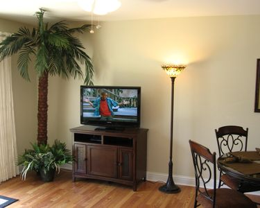 HDTV with DVD player