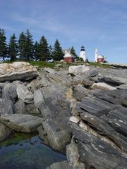 Jefferson cabin photo - Pemaquid Point lighthouse