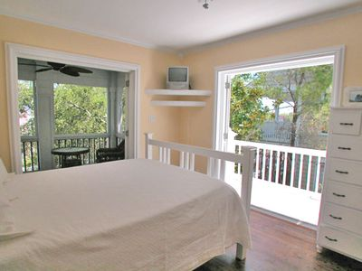 Fur, Fins and Feathers - Bedroom View - Cottage Rental Agency