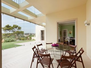 outside dining room - Estoril villa vacation rental photo