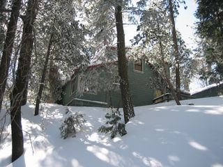Lake Arrowhead cabin photo - In winter