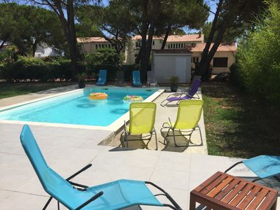 New villa 160 m² - 10 persons - seaside & swimming pool