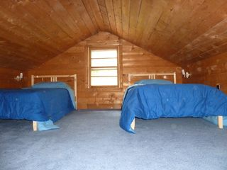 Copake house photo - Loft space holds 3 twin and 1 full bed