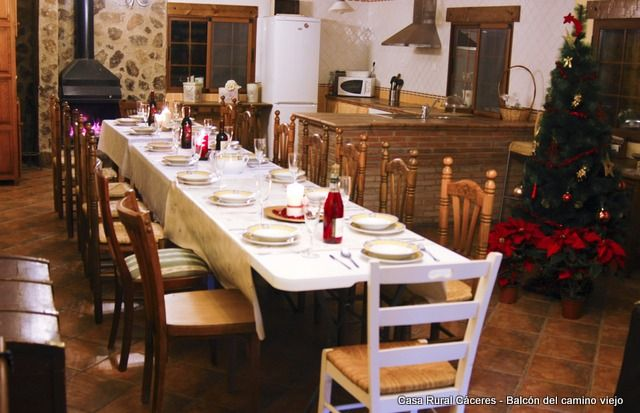 Self catering Balcón del Camino Viejo for 20 people