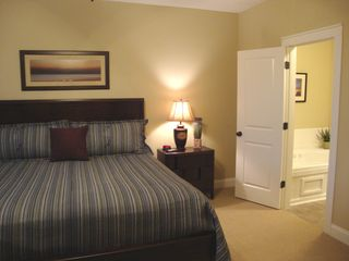 Hiawassee condo photo - Master Bedroom Suite with King Bed