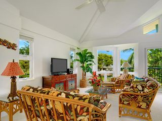Princeville house photo - Spacious room - High Def TV & Audio Entertainment