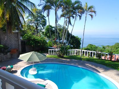 Private Ocean View Villa In Secure Gated Residence Central To Best Surfing