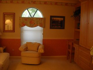Vacation Homes in Marco Island house photo - Study, entertainment room also has a pull out functioning as a Fourth Bedroom.