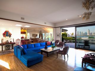 Coronado house photo - Comfortable living area with spectacular views