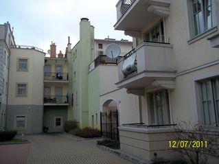 Sopot apartment photo - balcony with satellite TV