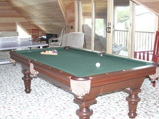Acton lodge photo - 3rd floor pool table with access to Eagle's Nest.