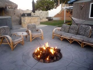 Mission Valley house photo - Toasty warm gas fire pit