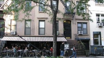 East Village apartment rental - Cafe Orlin on the block