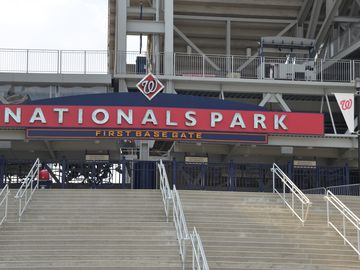 Washington National's new Baseball Park, a 15 minute stroll away