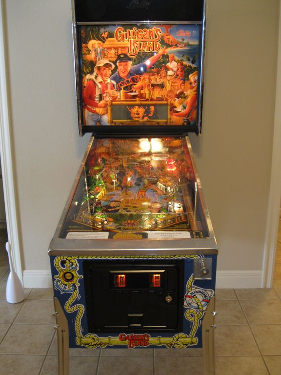Nostalgic and Fun for All! Gilligan's Island Pin Ball...no quarters required!