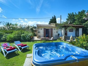 Romantic Holidays in Villa Gelat with Jacuzzi and Car Hire Included