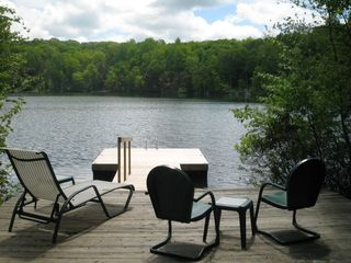 Brewster house photo - Your private dock on China Pond