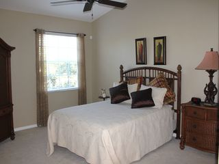 Bonita Springs townhome photo - Master bedroom with king size bed
