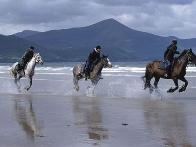 Glenbeigh house rental - Canter on Rossbeigh Beach