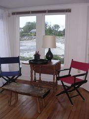 Biddeford house photo - View of the beach from side of sun parlor.