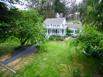 "Straus Home Ranch: ""Breathtaking"", ""Stunning"" ""Charming"" home on Tomales Bay"