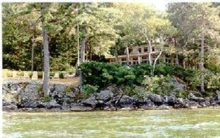 View from the water - Alton house vacation rental photo