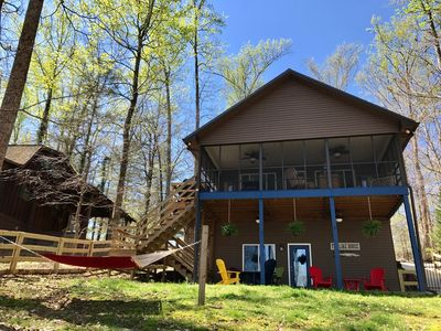 Fully Fenced Pet Friendly Lake  Home on Tims Ford Lake Winchester TN Sleeps 6-8