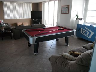 Aventura apartment photo - Yes, a pool table with a table tennis top! What are you waiting?