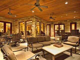 Spicewood estate photo - Living area is extended to outdoors!