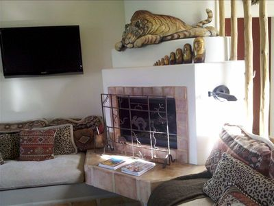 Palm Desert condo rental - Fireplace