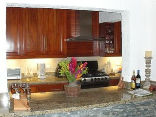 La Romana villa photo - View from the dining room to the kitchen