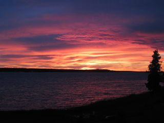 Drummond Island house photo - Challenge is can you take a better sunset picture?