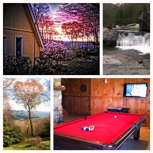 Sunrise, Local Waterfall, View and Rec Room