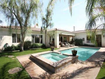 Palm Desert house rental - Vacation Paradise, heated pool, misted patio, very privet. go nude..
