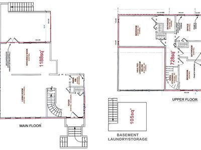 Victoria house rental - Rental Home Floor Plan