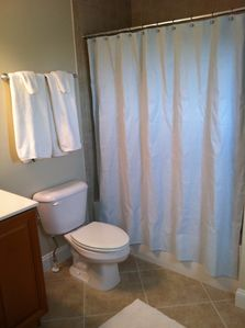 All four full bathrooms have a full bath. The Master Bath includes a shower.
