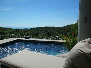 Vieques Island villa photo - from the pool deck to the Caribbean