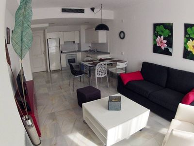 Stylish 3 double bedroom appartment  ibiza,close Pacha, beach,centre,casino,pool