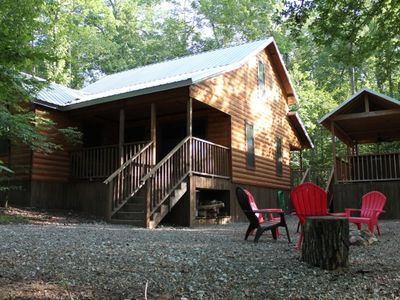 2br cabin vacation rental in broken bow oklahoma 133571 for Vacation cabin rentals in oklahoma