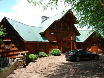 Lake Nantahala cabin rental - Front of Cabin