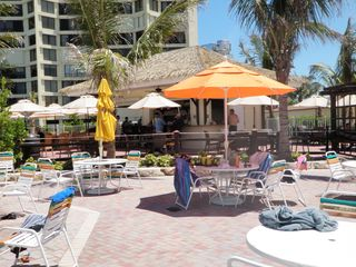 Hutchinson Island apartment photo - Tikki Bar by the main pool/restaurant next to the beach