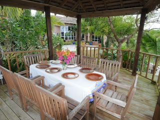Nassau & Paradise Island house photo - Enjoy outdoor dining at it's best.