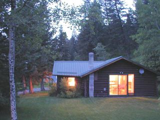 Bozeman house photo - from the South at Dawn