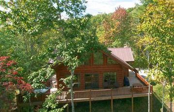 Almond cabin rental
