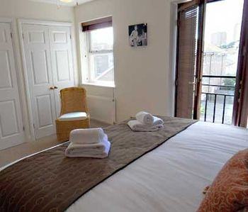 Brighton & Hove house rental - Master Bedroom, Patio Doors to Juliet Balcony
