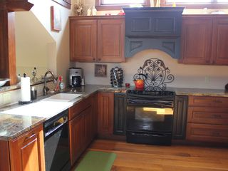 Frisco house photo - Our Bright Beautiful Kitchen with Convection oven, and walk in Pantry