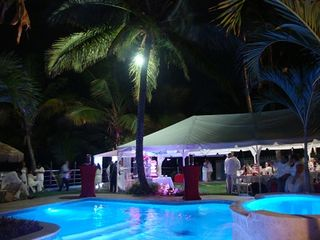 Arecibo villa photo - Gorgeous Evening Event at the Pool Area !!