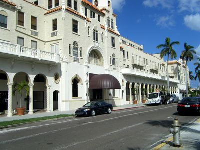 Historic Landmarked Palm Beach Building