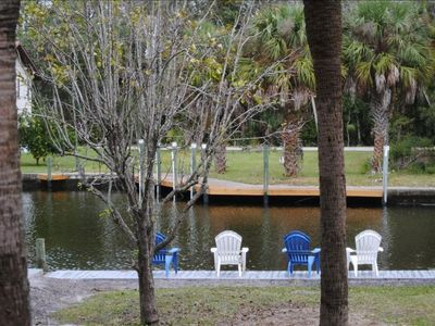 Crystal River house rental - Private back yard
