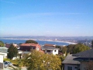 Monterey apartment rental - Monterey Bay & City Lights. This is a special hideaway with everything you need.
